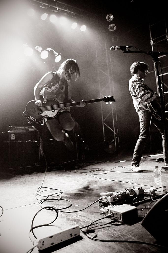 Deerhoof @ Marché Gare (2012)