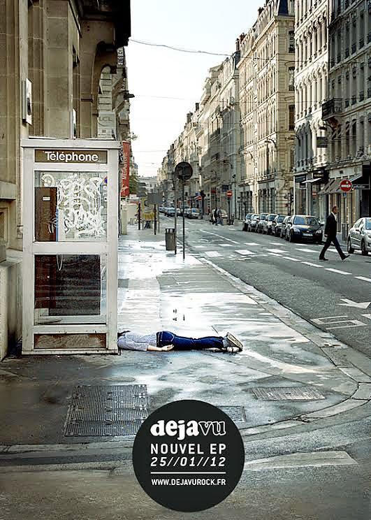 """Deja Vu """"Dylan municipal"""" - Flyer (2012)"""