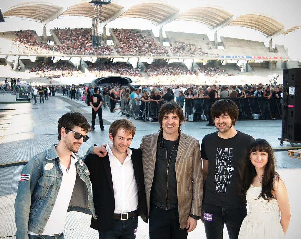 Deja Vu & Fred Jimenez @ Stade de Gerland, Lyon
